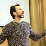 Мастер-класс «Главный секрет актёрской профессии» от актера театра Андрея Финягина для учащихся 10 классов